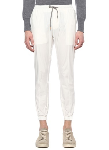 Eleventy Pantolon Beyaz